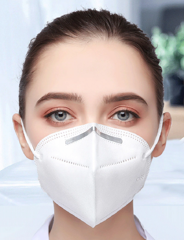 Model Comfortable KN95 Face Mask Protect COVID-19 Safety